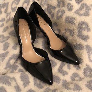 Jessica Simpson Black Heels Sz 8